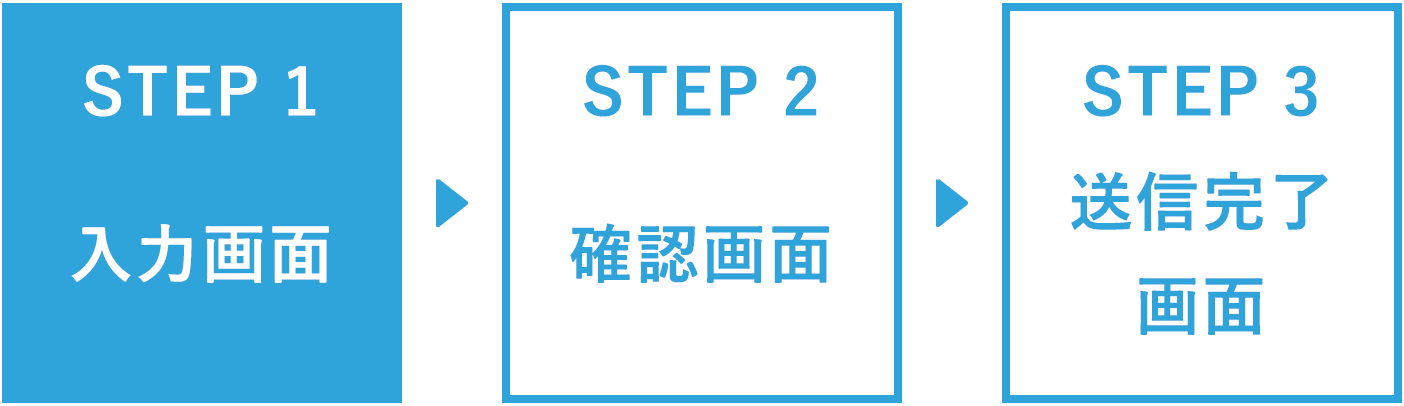 STEP1 入力画面