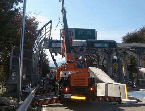 株式会社エスディーエス(SDS) 高速道路・一般道の設備工事 施工事例の写真